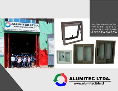 Page 1 aluminios y cristales alumitec ltda for Aluminios y cristales